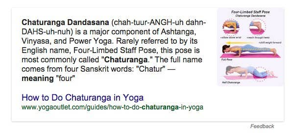 """""""Chaturanga Dandasana or Four-Limbed Staff Pose, also known as Low Plank, is a Yoga asana, in which a straight body parallel to the ground is supported by the toes and palms, with elbows at a right angle"""""""