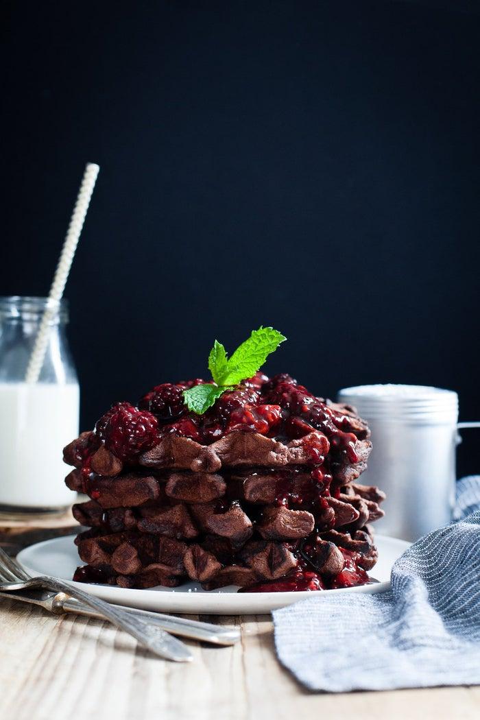 Balsamic. Roasted. Berries.