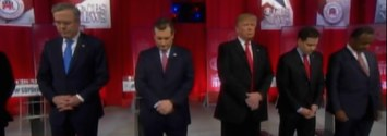 Donald Trump Didn't Bow His Head For Justice Scalia And People Were Mad