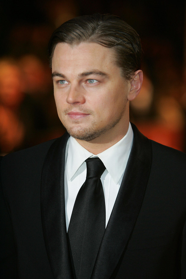 Here he is at his first ever BAFTAs in 2005: