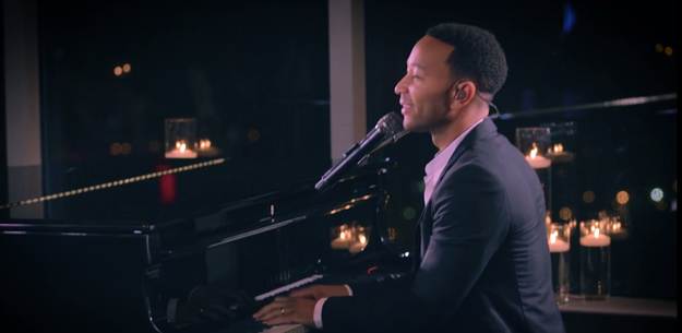 John Legend Performed At This Couple's Wedding For Their First Dance