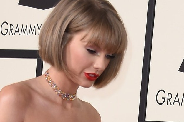 Taylor Swift Chopped Her Hair Off For The Grammys
