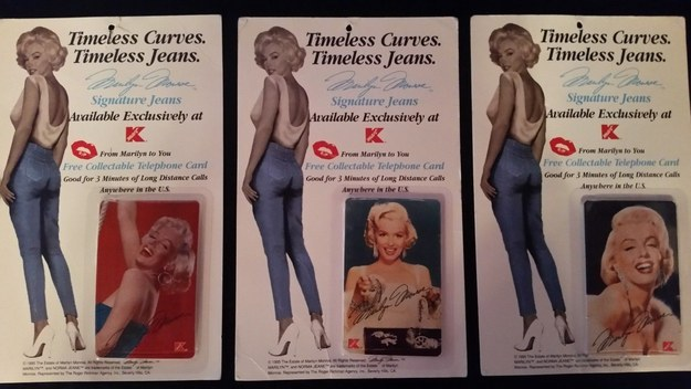 Kmart Marilyn Monroe Signature Jeans, 1995