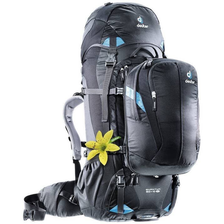 It Comes With A Detachable Day Pack Thats Perfect For Shorter Excursions And The