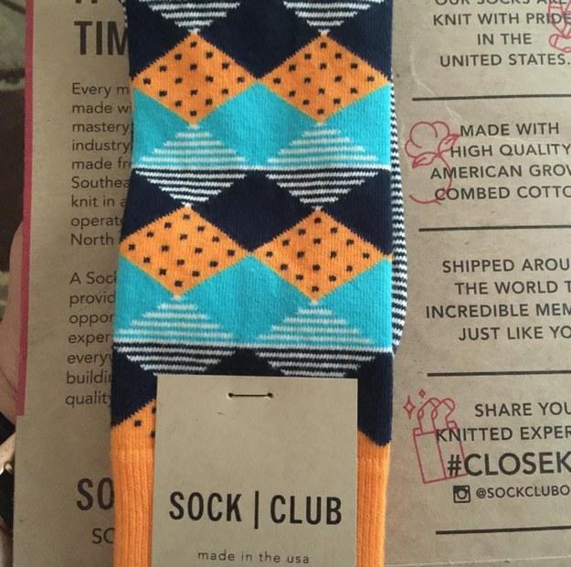 Sock Club, $12