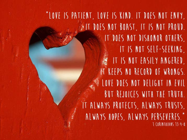 the bible is full of unforgettable and inspiring verses about love - Bible Verse For Valentines Day