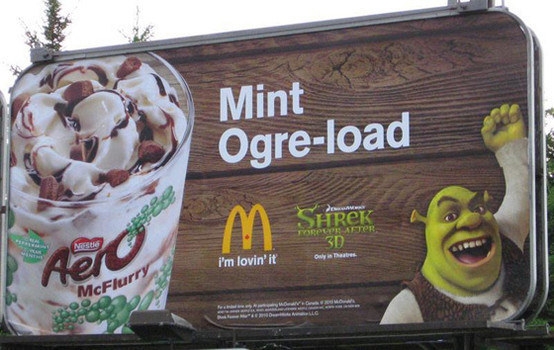Mint Ogre-Load McFlurry de McDonald's