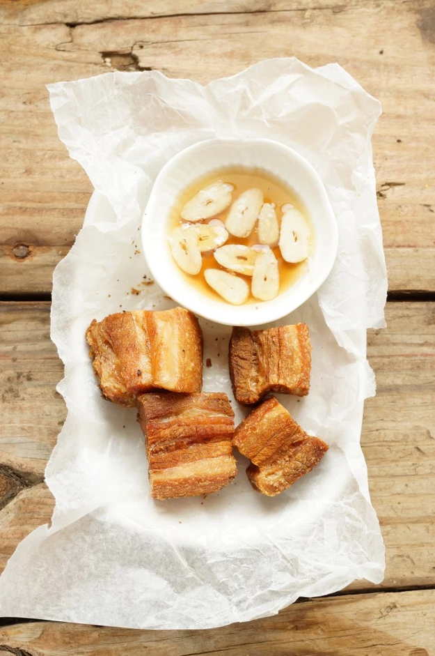 The same goes for pork belly: