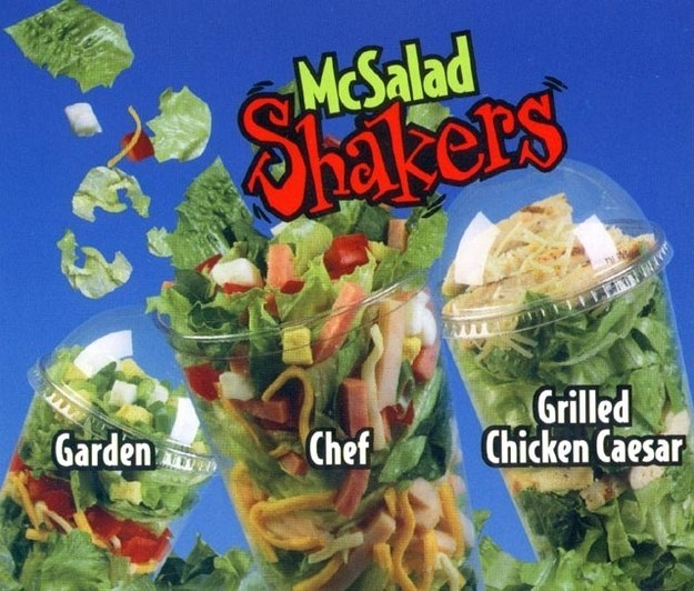 Salad Shakers de McDonald's