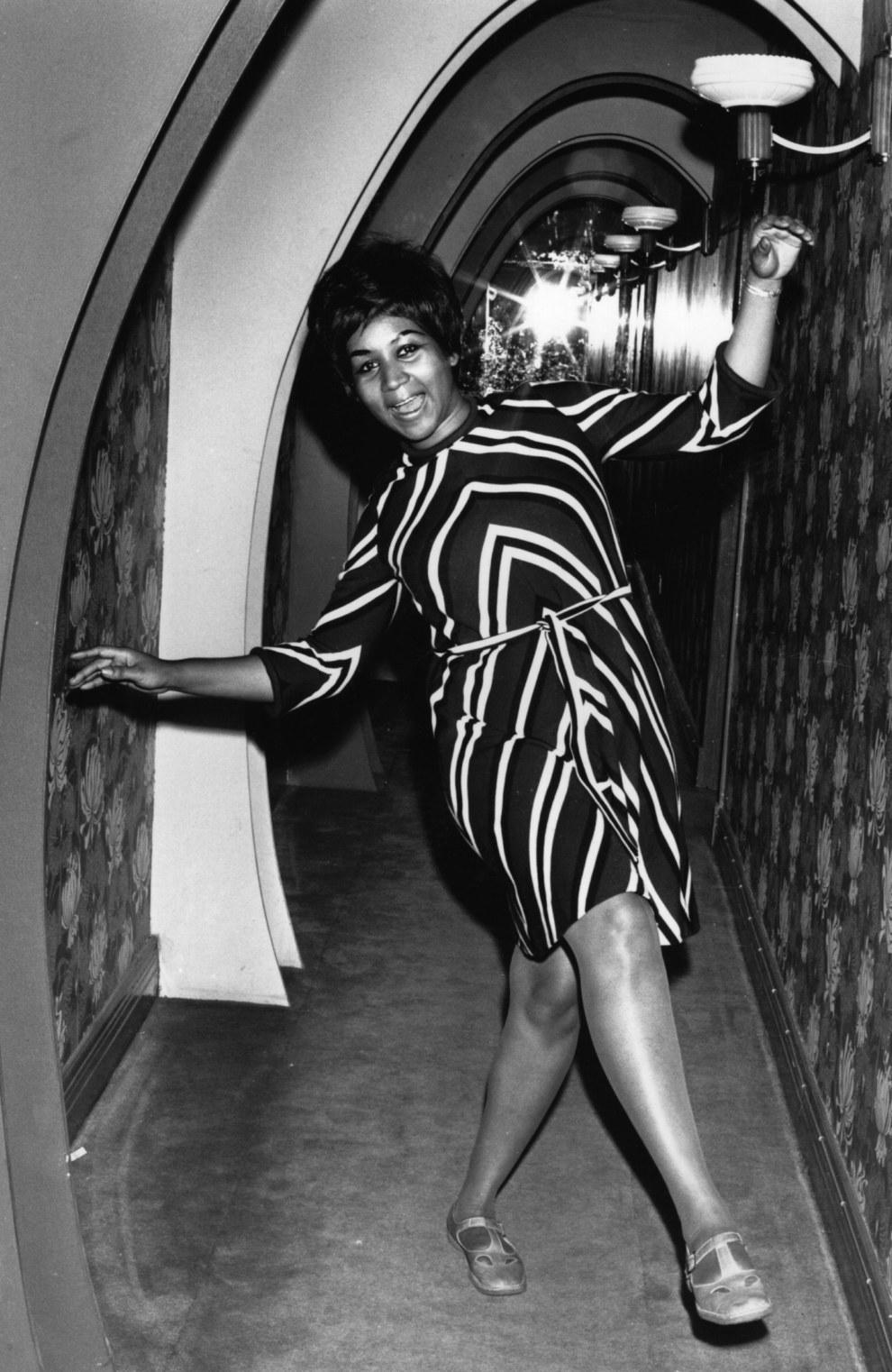 Aretha Franklin em 1968