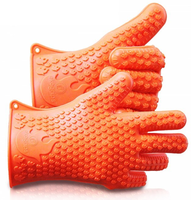 These silicone grill/oven mitts that have a huge fanbase ($16.79).