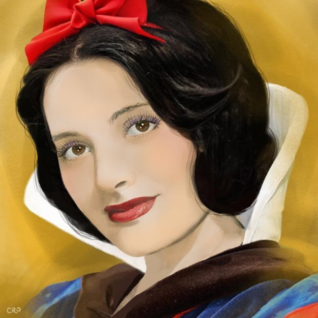 Adriana Caselotti as Snow White: