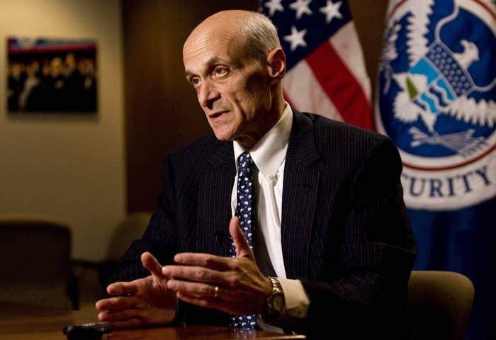 Homeland Security Secretary Michael Chertoff in Washington in 2009.