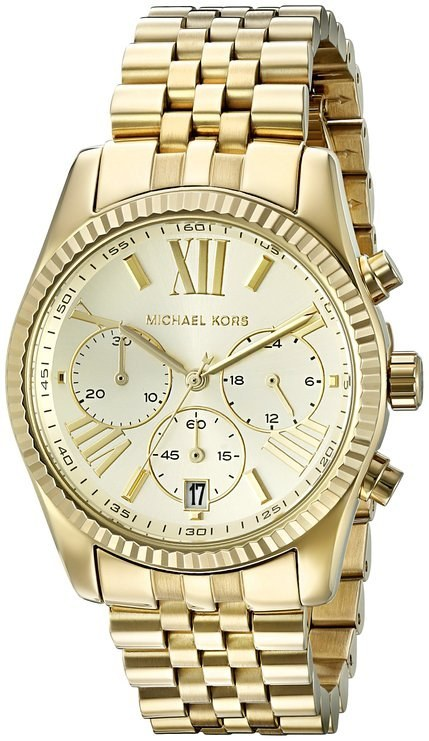 This Michael Kors watch that is really cute and also WHAT, SO CHEAP ($129.99).