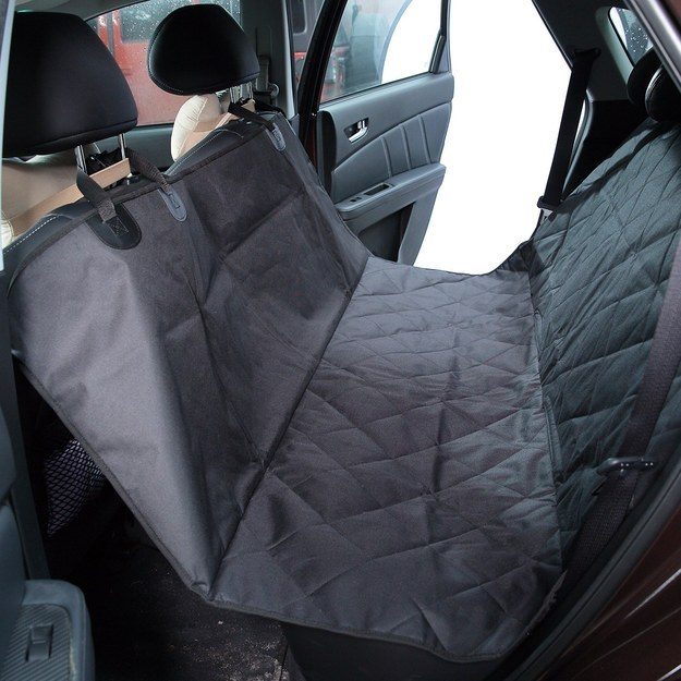 This seriously brilliant seat cover for dogs that keeps their hair from getting everywhere ($39.99).