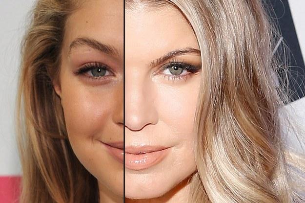 Celebrity look alike test upload photo