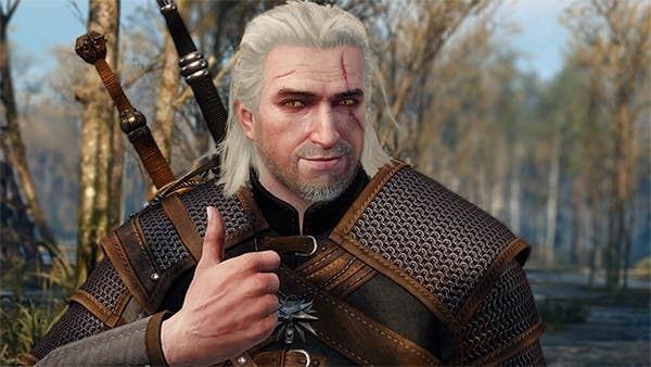 Image result for geralt thumbs up
