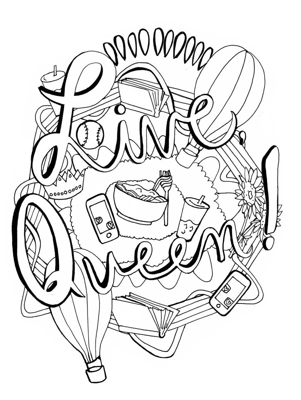 This Is The Only Coloring Book Youll Need After A Breakup
