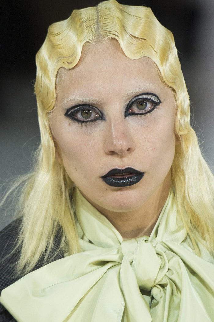 The mother of monsters rocked the runway at the Park Avenue Armory during New York Fashion Week.