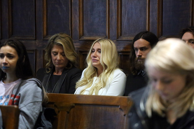 Kesha broke down in tears while in the courthouse. Following the ruling, a wave of celebrities came out online in support of the pop star.