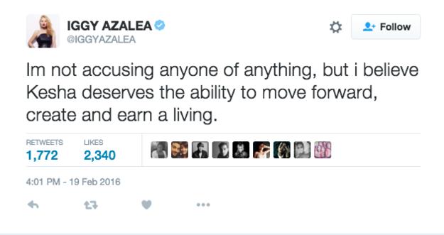 Rapper Iggy Azalea:
