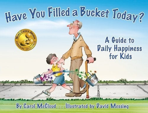 """What It's About: This book introduces an idea that everyone has an """"invisible bucket."""" These buckets are used to hold your good thoughts and feelings about yourself. When you do something kind, you help fill someone else's bucket.Why It's Important: This provides kids with a visual representation of the importance of kindness. It focuses on social interactions and how our actions positively or negatively affect other people. This book would be especially beneficial as kids begin to develop empathy towards others."""