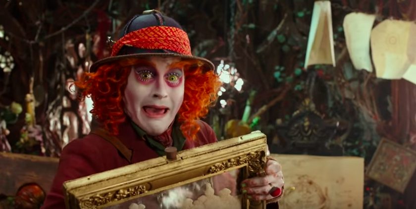 """Alan Rickman Narrates The New """"Alice Through The Looking Glass"""" Trailer"""