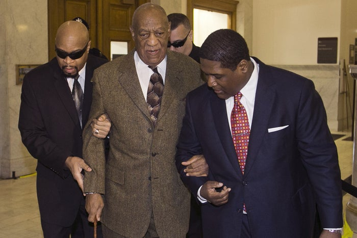 Bill Cosby at his hearing on Tuesday, Feb. 2, in Norristown, Pa.