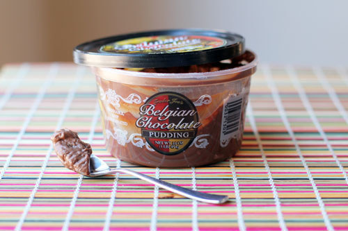 Belgian Chocolate Pudding