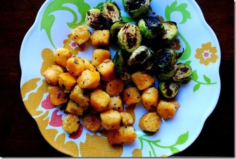 Sweet Potato Gnocchi with Butter and Sage