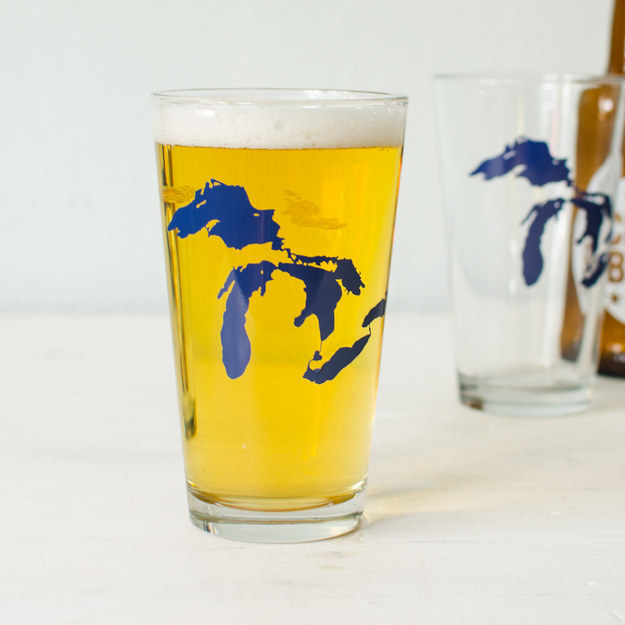 And pour yourself a cold one into a Great Lakes pint.