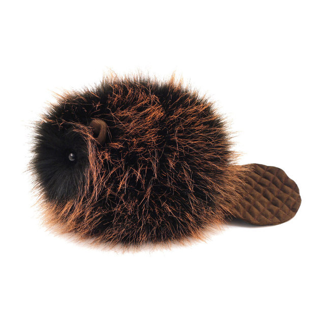 And do you really need a reason to snuggle up with this adorable plush beaver?
