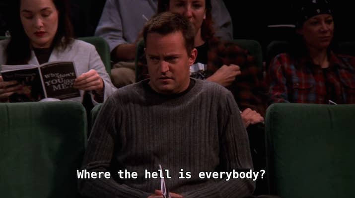 Image result for chandler bing one woman play