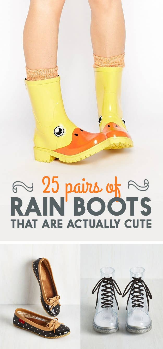 54c9506037e 25 Adorable Pairs Of Rain Boots That You Could Wear All Day