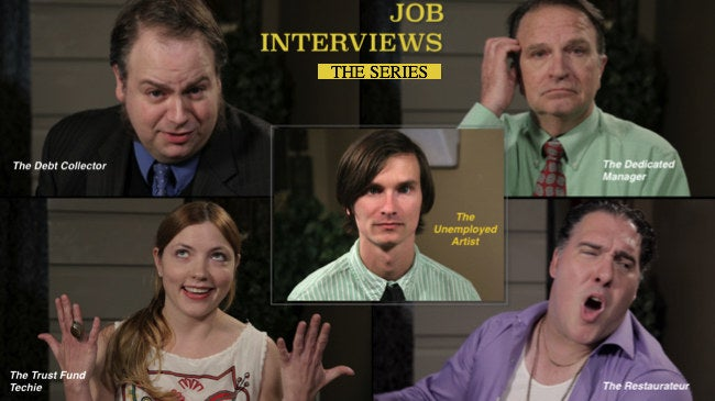Michael, an entitled theatre graduate who feels he is overqualified for entry level work. As his savings diminish he starts looking for jobs in every possible market and becomes completely disappointed with low pay, scams, and incompetence. This is Job Interviews.Watch the full series here.