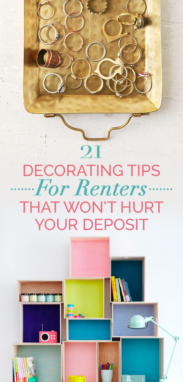 21 cheap and easy decorating tricks for renters for Home decor quiz buzzfeed