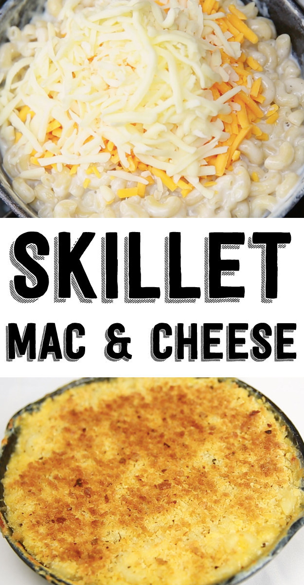 This Skillet Mac 'N' Cheese Is The Ultimate Easy Meal
