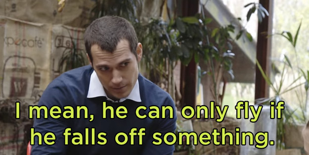 ...and Cavill rebutted with a charming answer.