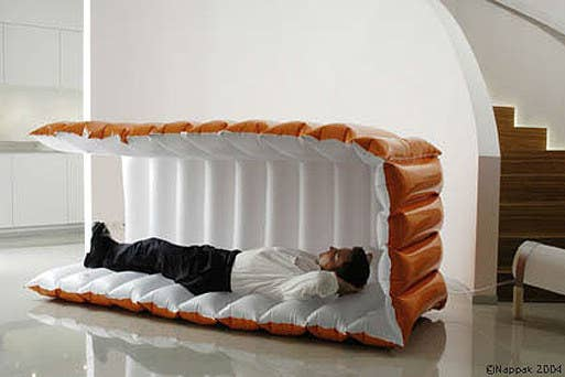 This Inflatable Nap Pod