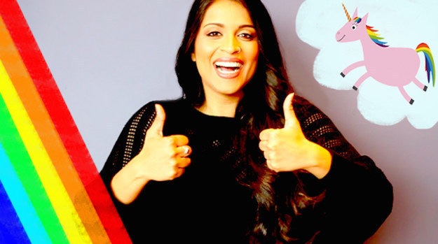 """Lilly Singh Facebook: We Asked Lilly """"Superwoman"""" Singh Fans To Draw Their Happy"""