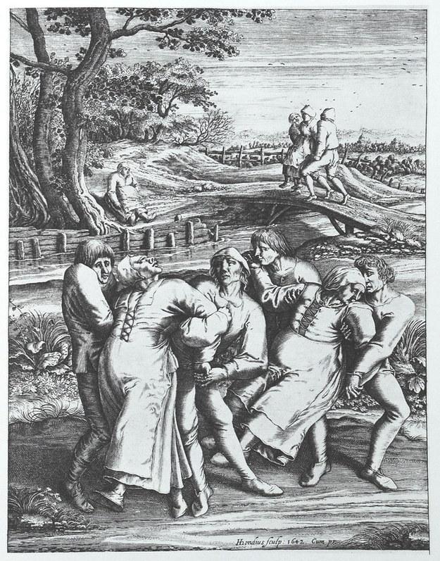Epidemia de baile de 1518, cuando la idea era bailar hasta morir (literalmente).