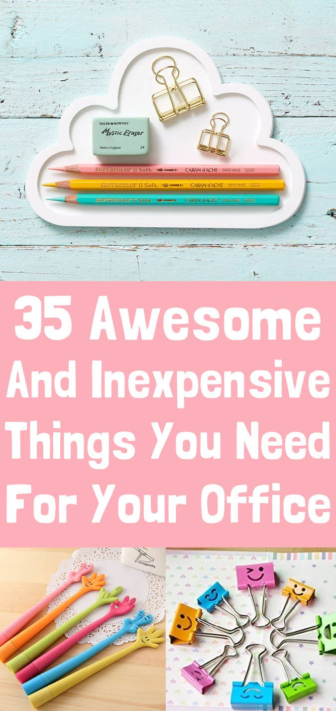 10e2b6434cf0ff 35 Insanely Awesome And Inexpensive Things You Need For Your Desk