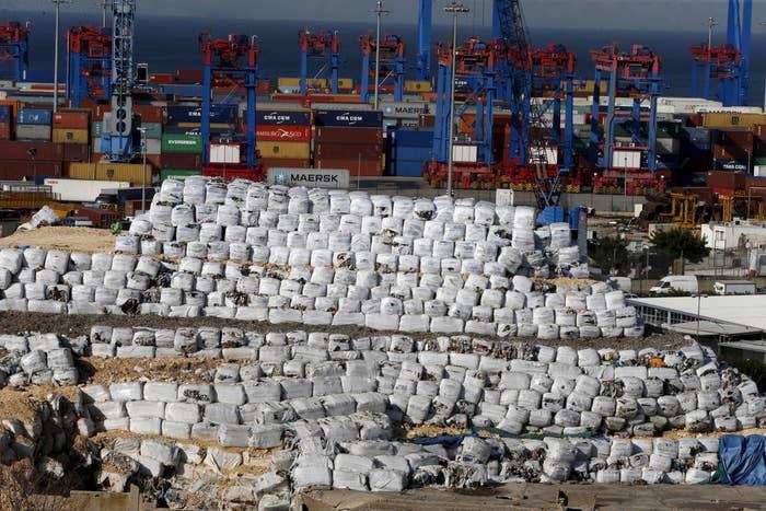 A port in Beirut, Lebanon, on Feb. 19, 2016.