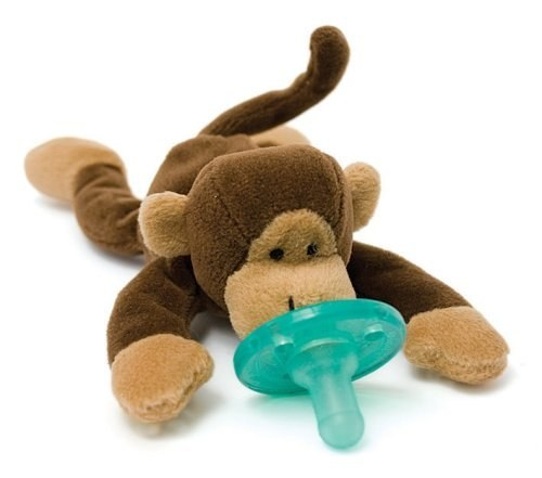 WubbaNubs keep pacifiers from falling on the ground every two minutes.