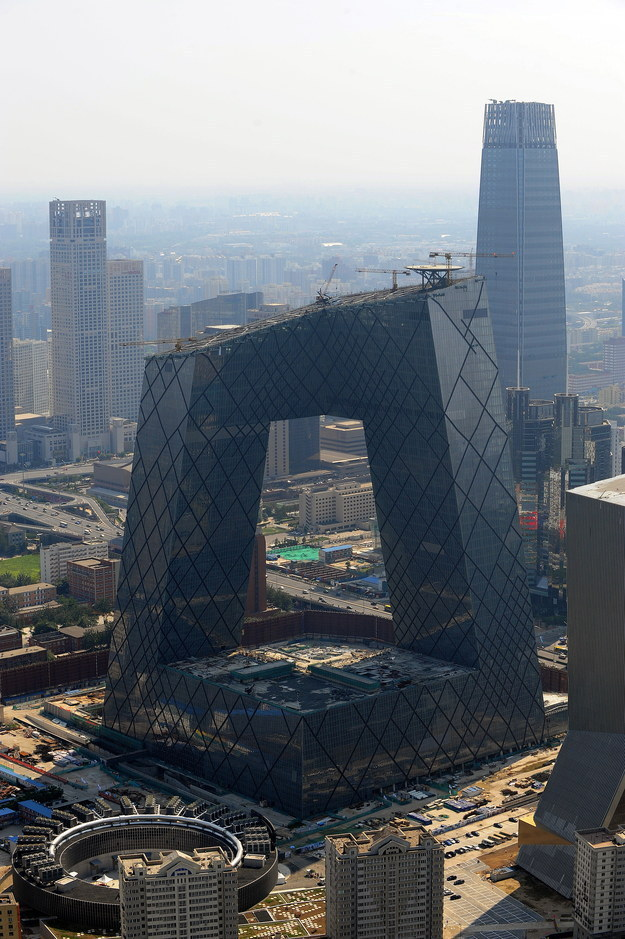 And finally, we can probably say goodbye to the CCTV headquarters building in Beijing — known as The Giant Underpants. We won't forget you.