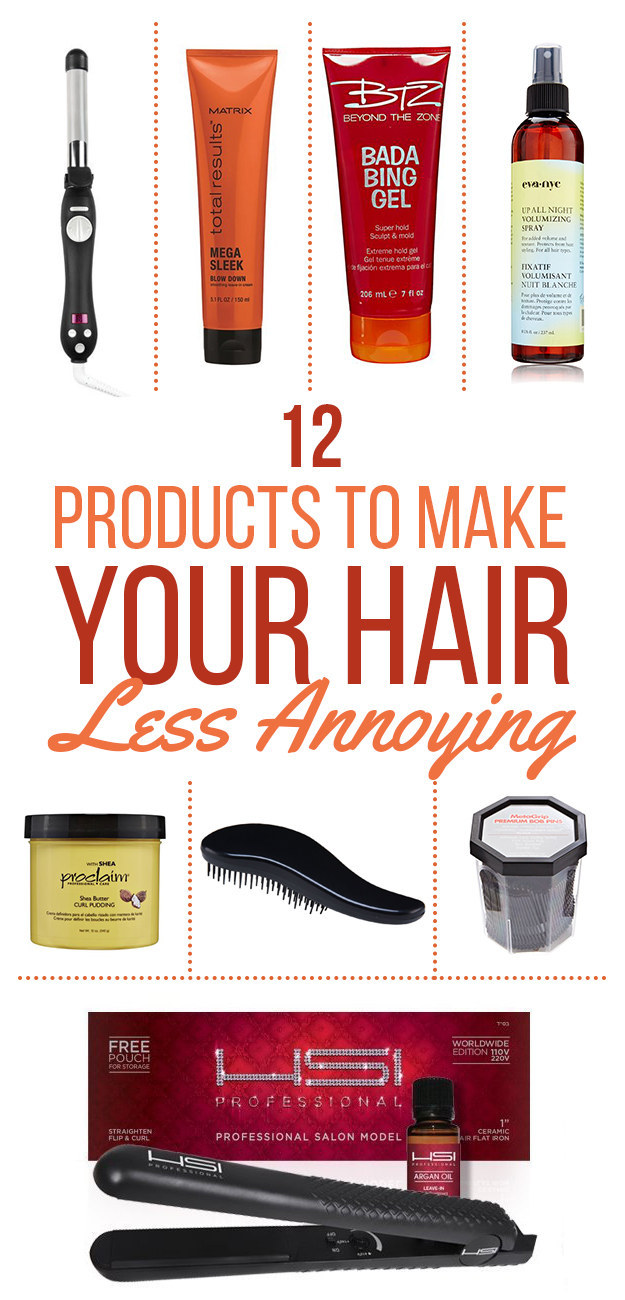 12 Products For People Who Suck At Doing Their Hair