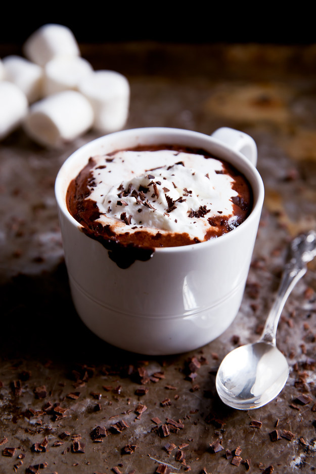 13. Coconut Milk Hot Chocolate