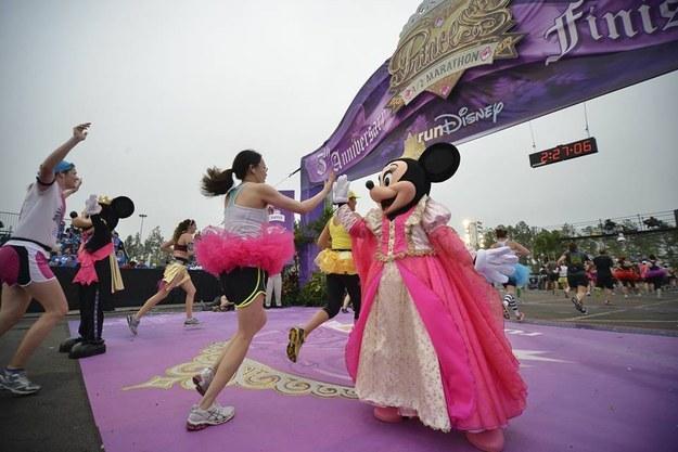 The Disney Princess Half Marathon was this past weekend.