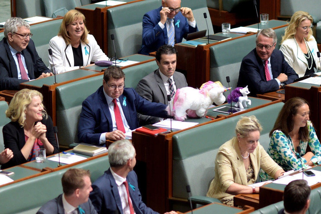 """This MP Brought A """"My Little Pony"""" To Parliament And Now He's Being Harassed By Bronies"""