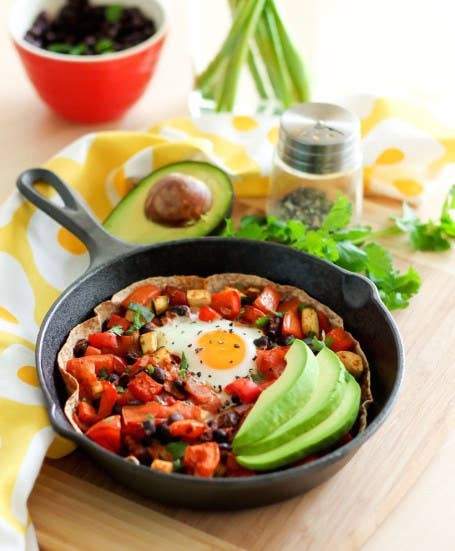 It's basically a huge breakfast taco. Get the recipe here!